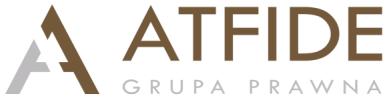 Logo of E-szkolenia | ATFIDE Sp. z o.o. - RODO, IOD, Wdrożenia, Szkolenia, Audyty, Ochrona Danych Osobowych, Prawo